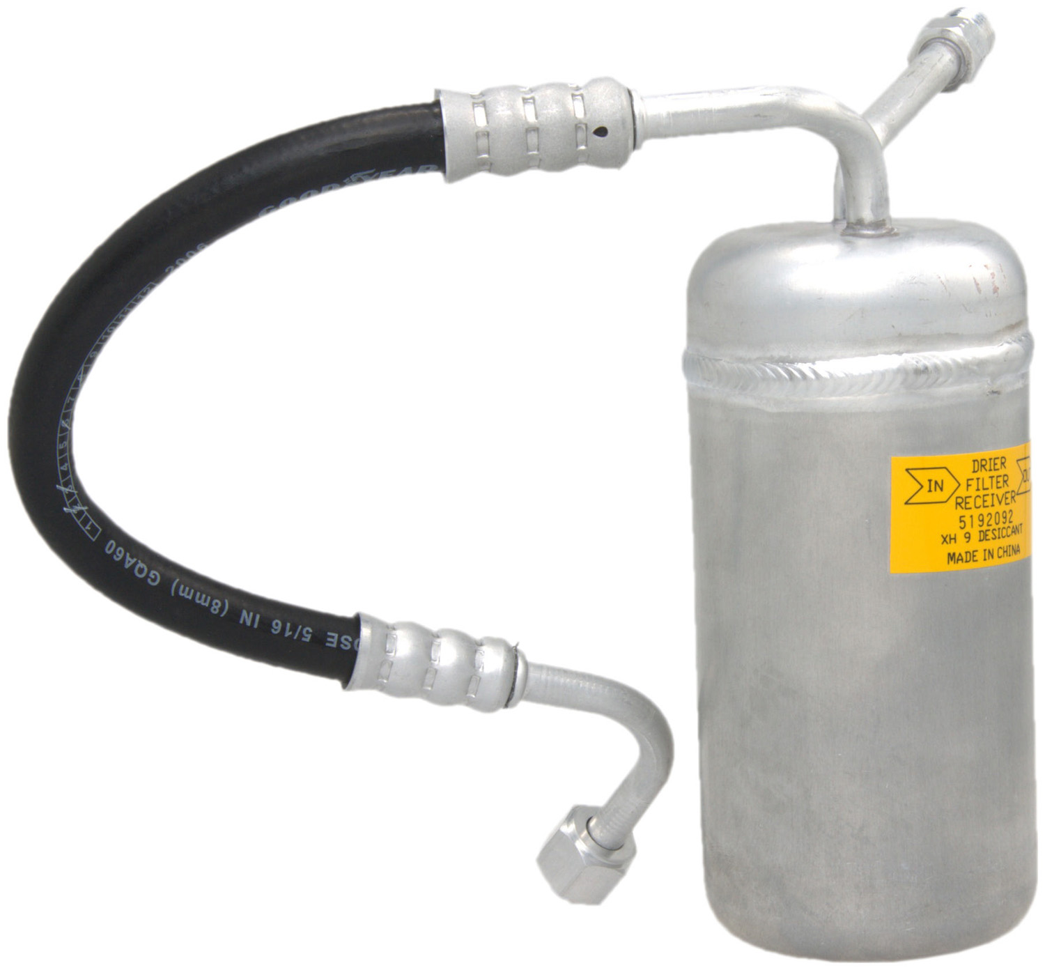 A/C Receiver Drier with Hose Assembly