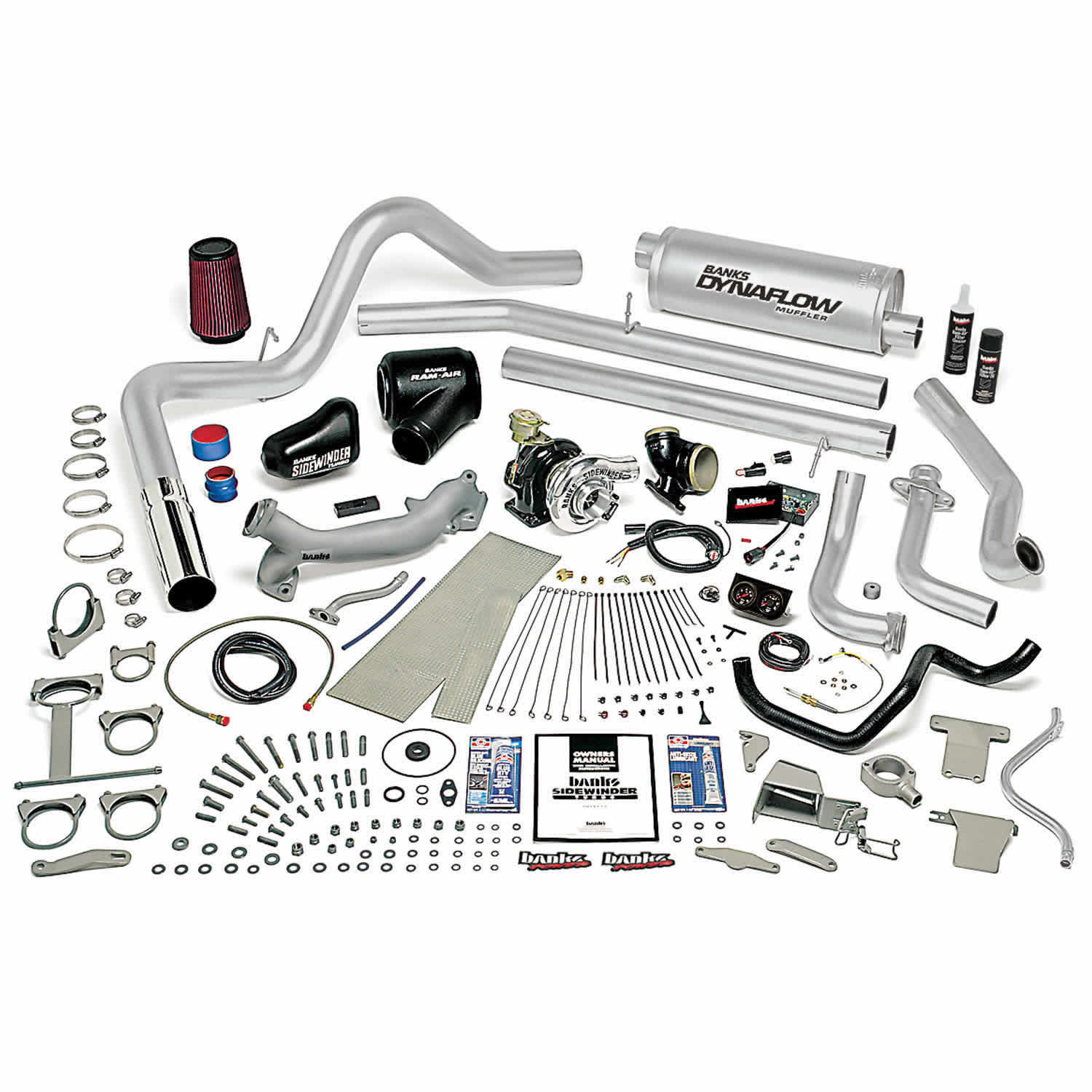 Exhaust System / Air Intake Assembly / Turbocharger Kit