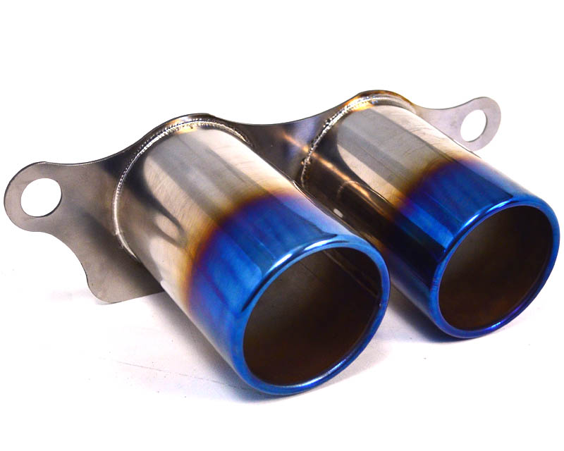 Exhaust Tail Pipe Tip Set