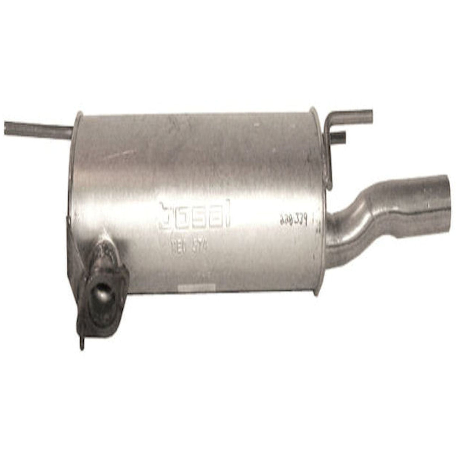 Exhaust Muffler Assembly