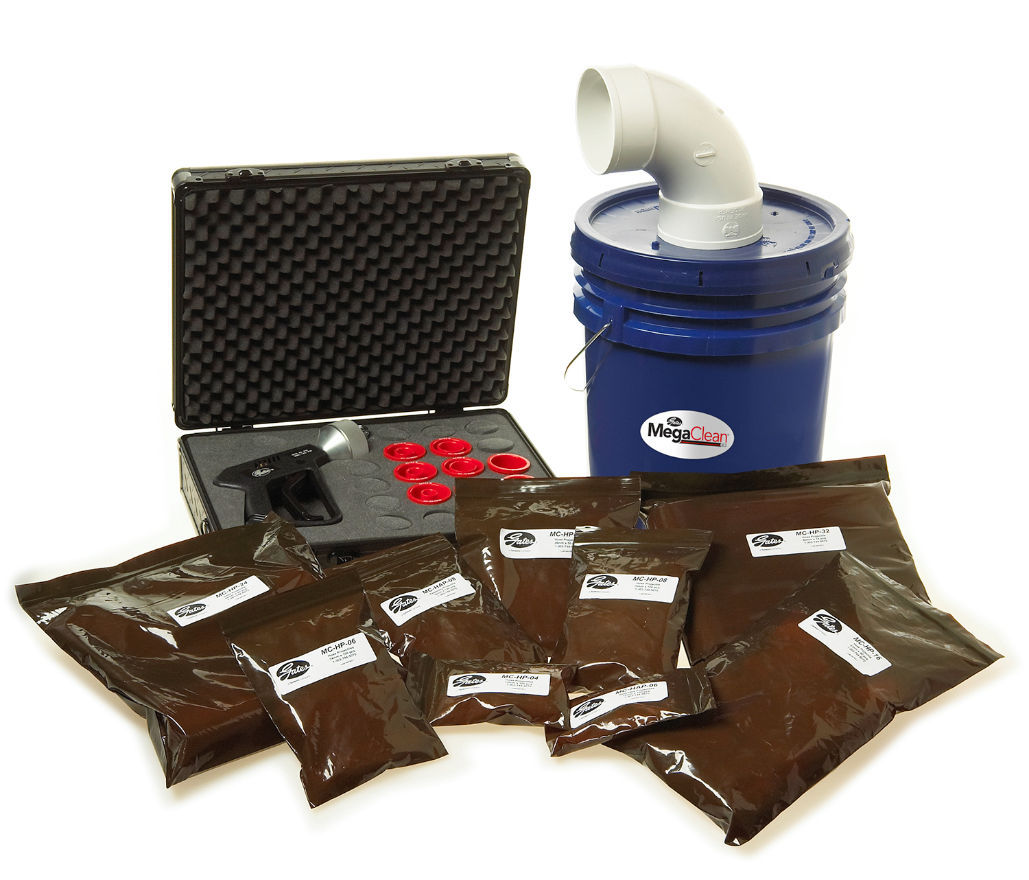 Hose and Tube Cleaning System Kit