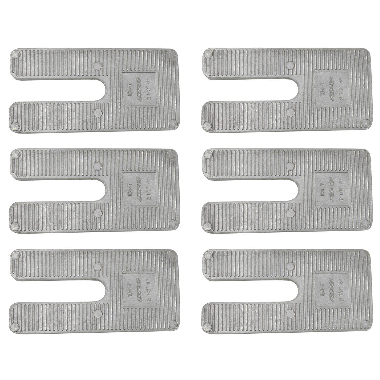 Alignment Caster Wedge Multi-Pack