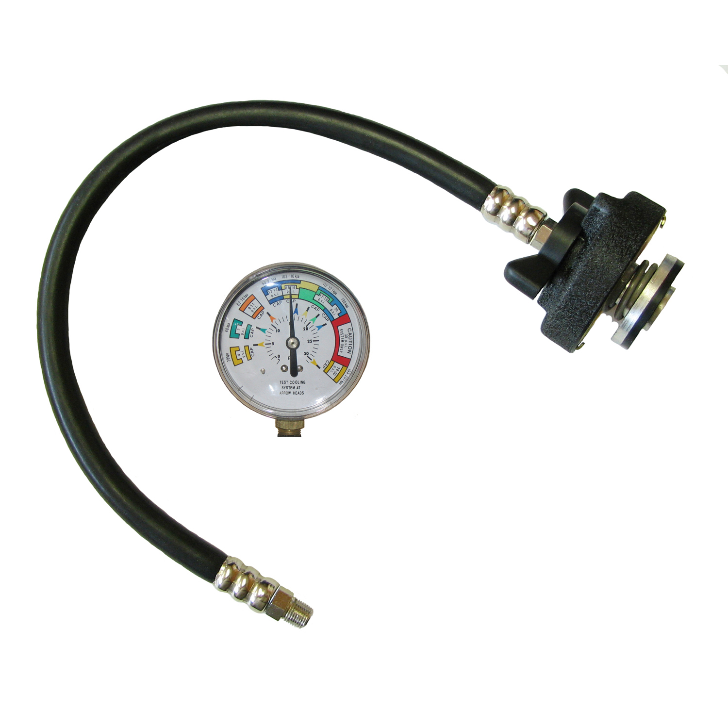 Engine Coolant System Pressure Tester Conversion Kit