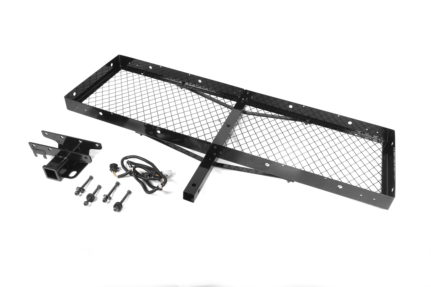 Receiver Hitch Mounted Cargo Carrier