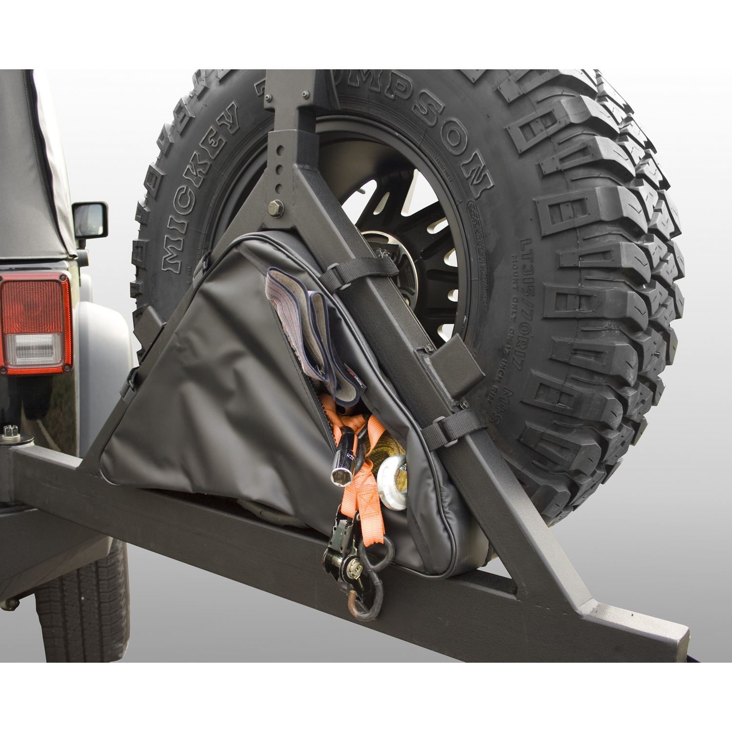 Spare Tire Storage Container